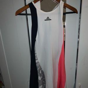 Brand new adidas dress with spandex shorts 💙💗